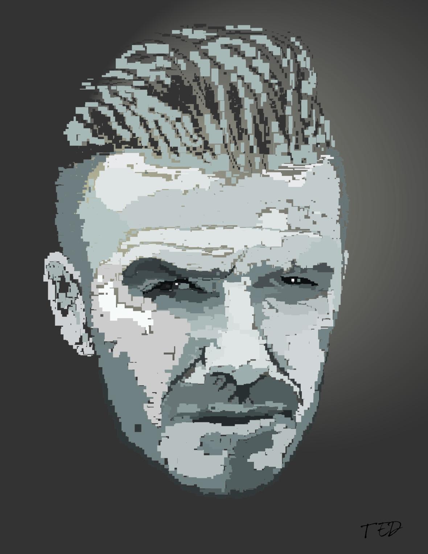 Beckham Print