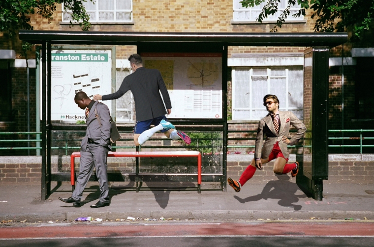 bus stop fight